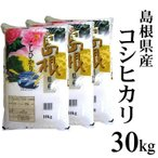 【白米】令和元年産 島根県産コシヒカリ30kg(10kg×3袋) 送料無料(一部地域除く)