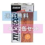 キシラデコール 4L 2缶セット ベロ(注ぎ口)付き