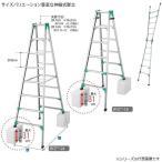 長谷川工業 ハセガワ  脚部伸縮式専用脚立 RYZ 1.0-30