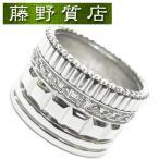 ブシュロン キャトルラディアントリング 750WG×ダイヤモンド #51 8606