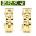 カルティエ Cartier マイヨンパンテールピアス K18イエローゴールド×ダイヤモンド 8530