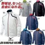 ミズノ Mizuno ダイヤモンドヒーロー フルオープンシャツ長袖 52WB729