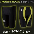 Mizuno ミズノ メンズ 競泳水着 ハーフスパッツ GX・SONIC2 ST N2MB5001