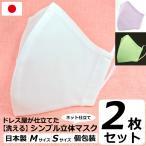 夏用 マスク 日本製 洗える 在庫あり 布マスク 女性用 子供用 Mサイズ  Sサイズ アトリエフジタ