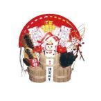 ショッピング正月 福俵 極上 三つ重ね 扇鶴