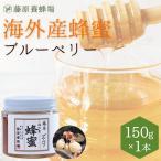 はちみつ ブルーベリー 藤原養蜂場の海外産蜂蜜  お手頃な150g
