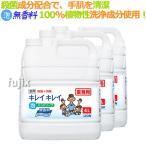 大容量 キレイキレイ 薬用泡ハンドソープ プロ無香料4L