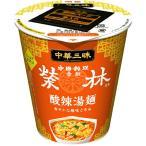 明星 中華三昧タテ型ビッグ 赤坂榮林 酸辣湯麺 99g×12個入り (1ケース)(AH)