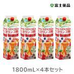 富士薬品オリジナルりんご酢 フジタイムAQUA 2021 1800mL  4本セット飲む酢 送料無料
