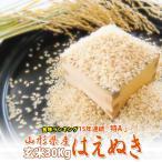 米 お米 30kg 山形県産 はえぬき 米 1等米 玄米30kgまたは白米27kg 平成28年産 送料無料