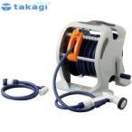(同梱・代引不可)takagi タカギ 園芸散水用品 ホースリール マーキュリーツイスター(NB30m)