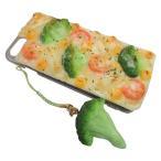 日本職人が作る  食品サンプル iPhone7ケース/アイフォンケース グラタン ストラップ付き IP-714