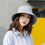 帽子 女性 UVカット 折畳める プレーン カジュアル つば広 春夏秋 通気性良い ガーデニング ファッション 登山、散歩、サファリ あごひも付き