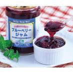 【送料無料】ブルーベリージャム 野生種 寒天入りペクチン砂糖不使用 400g【常温商品】※北海道・沖縄・離島は別途送料がかかります。