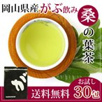 桑の葉茶 くわの葉茶 桑茶 桑の葉 マルベリーリーフ ノンカフェイン 国産 茶 健康茶 送料無料 ティーバッグ 30包 ふくちゃ 福茶