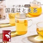 はと麦茶 ハトムギ茶 麦茶 はと麦 ハトムギ 鳩麦 茶 お茶 健康茶 美容茶 ノンカフェイン 国産 ティーバッグ 20包 送料無料 ふくちゃ 福茶