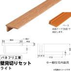 パネフリ工業 壁見切りセット 《床見切り材》 ライト (1セット) f-ss-2021-0327 (代引不可)