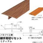パネフリ工業 継手見切りセット 《床見切り材》 ミディアム (1セット) f-ss-6541-0327 (代引不可)