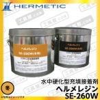 ヘルメチック ヘルメレジン SE-260W 冬用 (水中硬化型充填接着剤) 5kgセット (代引不可)