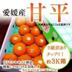 礼盒 - 《ニュ-フェイス》愛媛【甘平】かんぺいみかんB級約3K箱