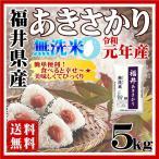 新米 福井県産 あきさかり お米5kg 無洗米 お試し 5kg 白米 28年産 送料無料