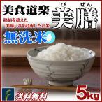 お米 5kg 無洗米 美食道楽 美膳 国内産 白米 送料無料