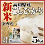 30年新米 お米5kg 新米 コシヒカリ 米 高知県産 30年産 送料無料