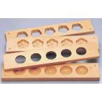 製菓用品 送料無料 手彫物相型 五つ取り 梅 菊(桜材) 6-1041-36-37 7-1091-36-37