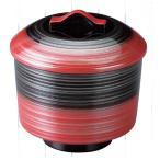 お椀 風鈴椀 朱黒銀刷毛目 耐熱ABS樹脂 食器洗浄機対応 f6-199-8