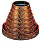 寿司桶 DX富士桶 梨地老松尺2寸 5人用 ABS樹脂製 f5-951-66