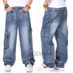 ジーンズ メンズ デニムパンツ カーゴパンツ ブーツカット ワンドパンツ ガウチョパンツ ロングパンツ デニム 無地 大きいサイズ カジュアル