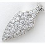 CHAR(チャー) パヴェダイヤモンド計1.28ct ペンダント・ネックレス プラチナ【中古】