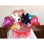 Yahoo!FukuPukuウエディングドール バルーンギフト リサとガスパール 送料無料,ぬいぐるみ電報,結婚式 祝電,誕生日(1201)