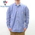 Arvor Maree / アルボーマレー セーラーカラーラグランスリーブシャツ
