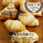 国産小麦100%使用 ふくらむ魔法のミニクロワッサン(プレーン)6個入(冷凍パン生地)
