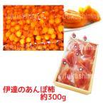 福島特産 あんぽ柿 五十沢産 贈答向け 化粧箱入 (約300g 6〜8粒入)