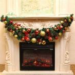 クリスマス ガーランド クリスマスリース クリスマスツリー装飾 クリスマス 1.5m 飾り オーナメント クリスマスツリー パーティー装飾藤 クリスマス飾り