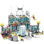 レゴ 互換品 スーパー・ヒーローズ アベンジャーズ アイロンマンベース 基地 Gnaku Hall