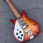 レフティ 325 リッケンバッカースタイル エレキギター オレンジバースト Rテールピース  [ギターのみ]