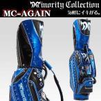 マイノリティ・コレクション 10502 MC-AGAIN キャディバック BLACK×BLUE 9型 5kg 47インチ対応 Minority Collection 2016