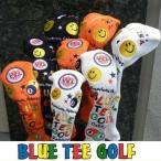 ブルーティーゴルフ スマイルピンボール ニットカバー BLUE TEE GOLF