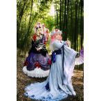 Yahoo!フルグレース豪華版 コスプレ衣装 東方プロジェクト 東方Project 西行寺幽々子 サイギョウジユウユウコ