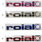 ROIAL ( ロイアル )/KS15 ICON10 SMALL /ソリッド カッティングステッカー