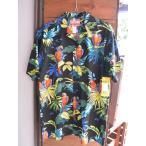 ショッピングSHIRTS Made in USA Robert J. Clancey Aloha Shirts コットンアロハシャツ Max Payne? Black
