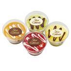 ショッピングアイスクリーム イヴ・チュリエス 4種類のフルーツソース アイスクリームセット YV-35