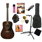 ワンランク上のヘッドウェイ・ギターアコギ入門10点セット |HEADWAY  HD-45R  NA / ドレッドノート ・ アコースティックギター初心者セット