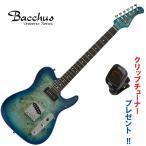 Bacchus Universe Series TACTICS-BP / R BL-B(ブルーバースト) ・バッカス/バールポプラトップ・テレキャスタータイプ