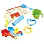 グリーントイズ Green Toys Bake by Shape Role Play Set Toy, Assorted Colors 並行輸入品