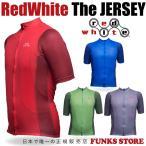 RedWhite Apparel レッドホワイト アパレル The JERSEY ザ ジャージ サイクルジャージ メンズ 半袖 全4色 5サイズ XS S M L XL