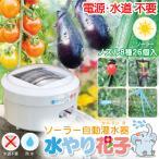 ソーラー自動灌水器 水やり花子 電源 水道 不要 ソー